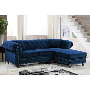Spangler Reversible Sectional Everly Quinn