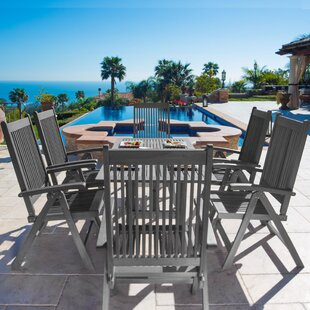 Darby Home Co Drees 7 Piece Dining Set