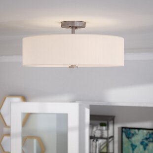 Burgoon 4-Light Semi Flush Mount by Mercury Row