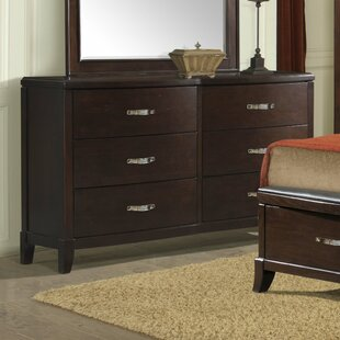 Mcduffie 6 Drawer Double Dresser