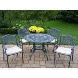 Robertsdale 5 Piece Dining Set with Cushions