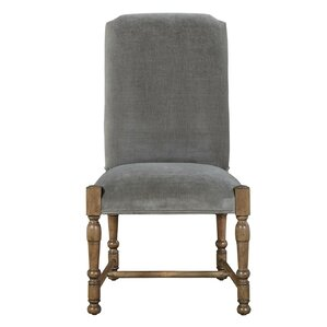 Wellison Upholstered Side Chair by Gracie..