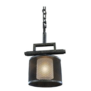 Kalco Stanley 1-Light Drum Pendant