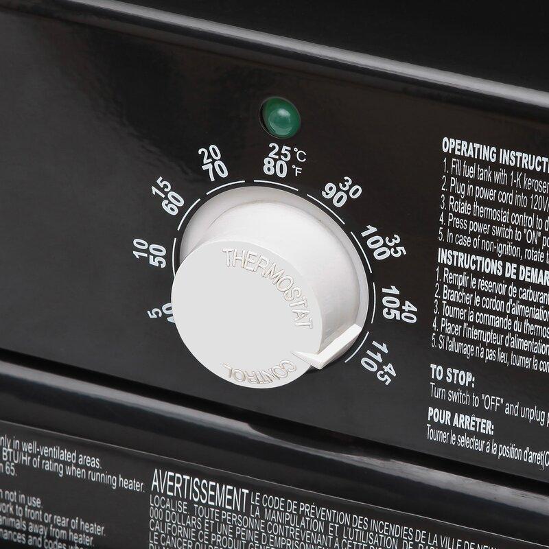 Stanley Kerosene Diesel Forced 80 000 Btu Outdoor Patio Heater Wayfair Ca