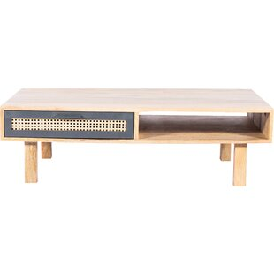 Rexdale Coffee Table with Storage by World Menagerie