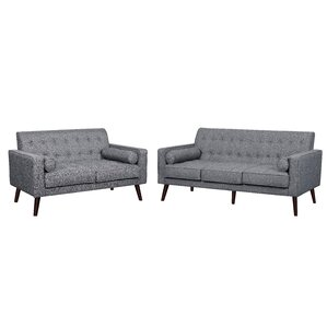 Vandenberg 2 Piece Living Room Set by George Oliver