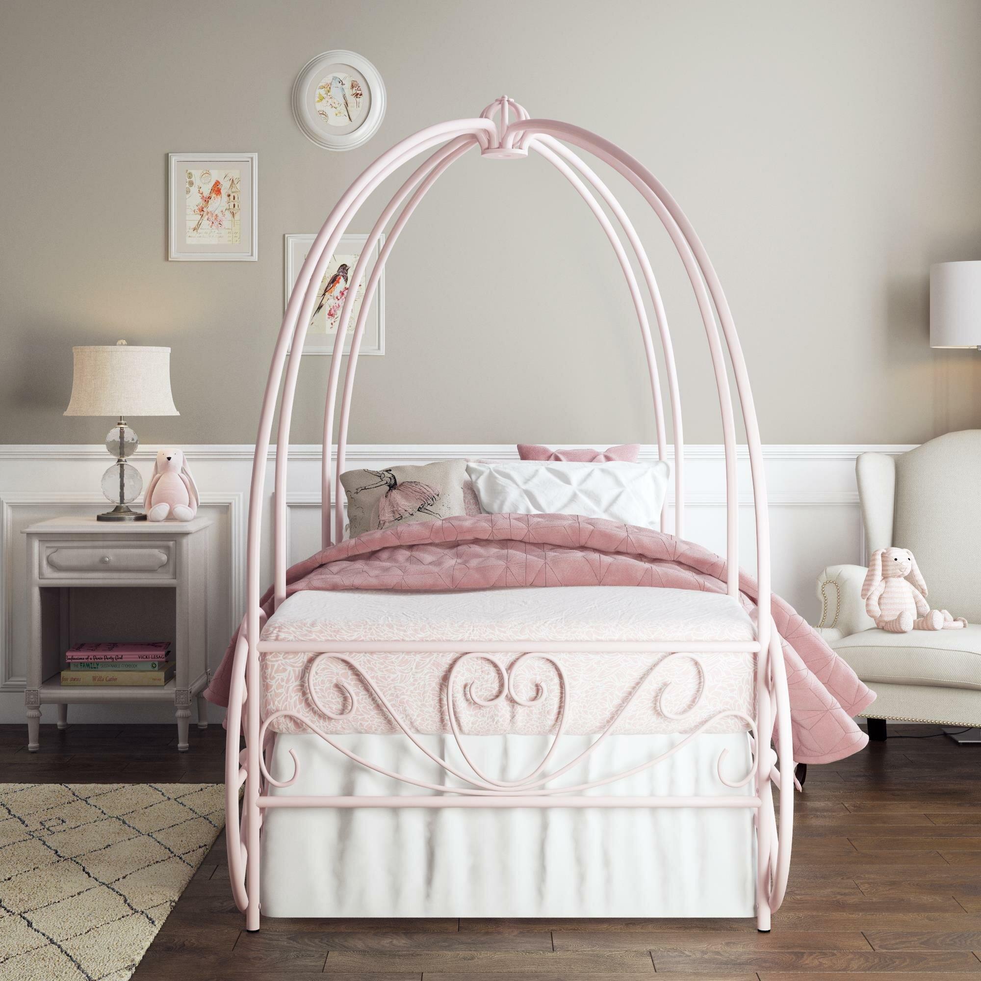 - Zoomie Kids German Twin Canopy Bed & Reviews Wayfair