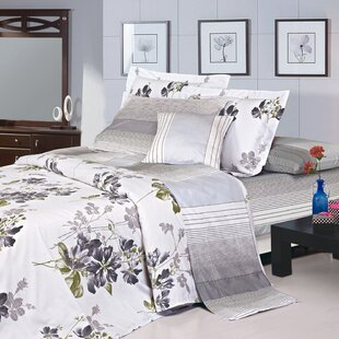 Katie 4 Piece 220 Thread Count 100% Cotton Sheet Set
