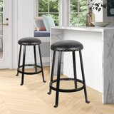 Ahsan 24.5 Counter Stool (Set of 2) by Red Barrel Studio®