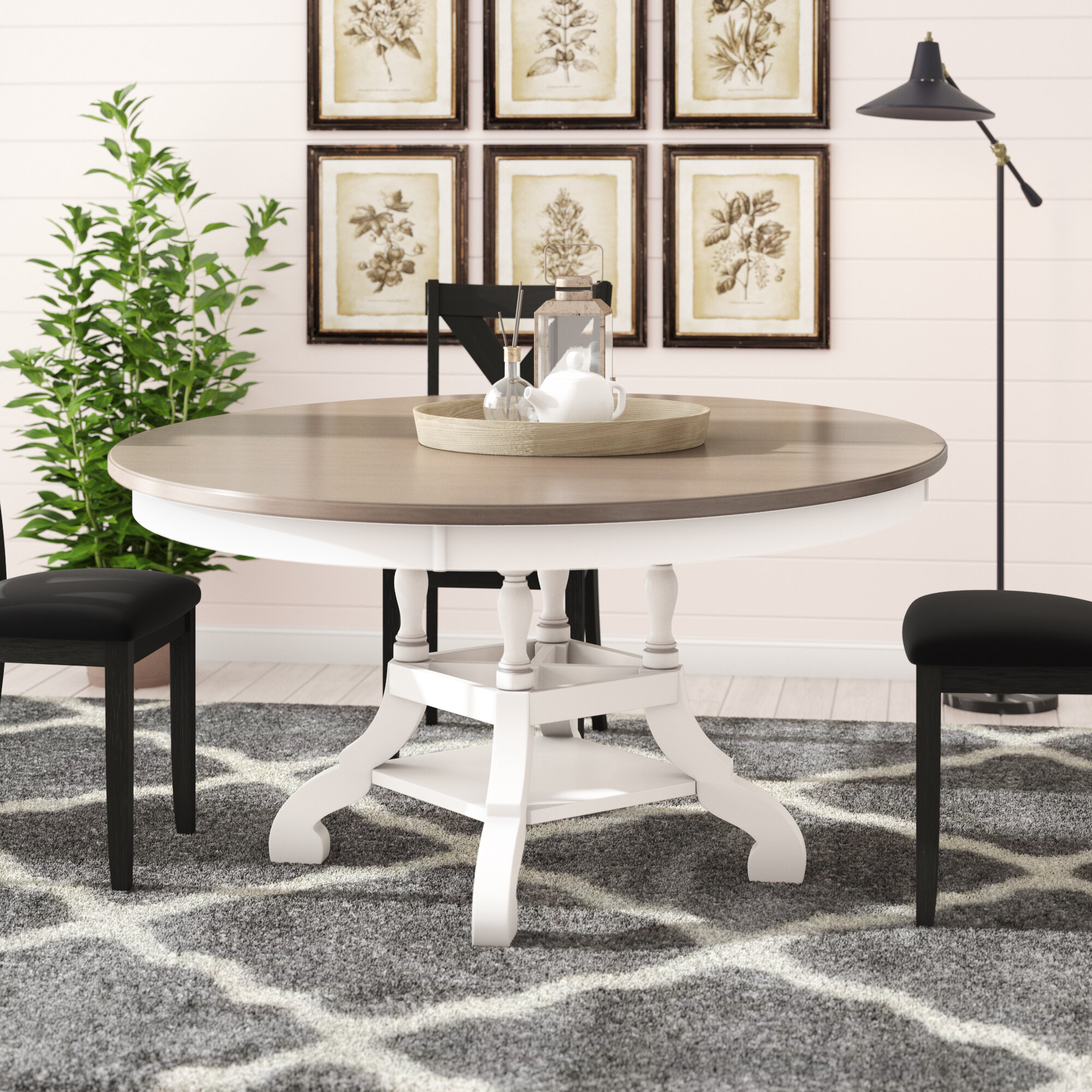 Cottage Country Round Kitchen Dining Tables You Ll Love In 2020 Wayfair
