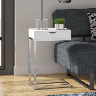 Athan End Table by Wade Logan