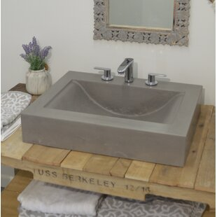 Compare & Buy Bay Wave Rectangular Vessel Bathroom Sink By Hyde Products
