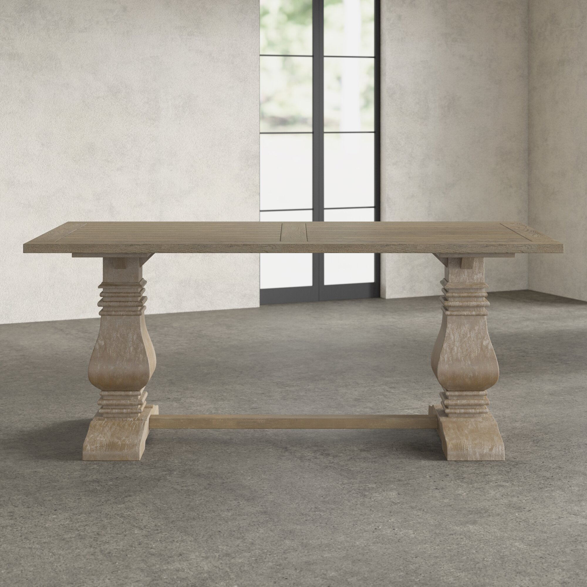 Ordinaire Broadway Pedestal Dining Table