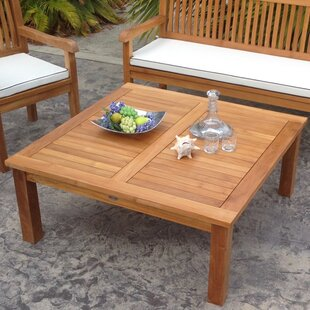 Solid Wood Patio Table by Chic Teak