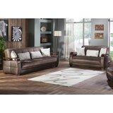 Yunpeng 2 Piece Sleeper Living Room Set by Orren Ellis