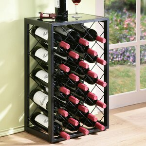 Mooney 23 Bottle Floor Wine Rack