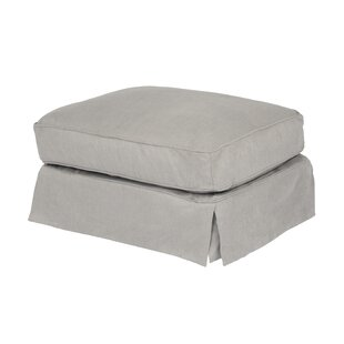 Elsberry Box Cushion Ottoman Slipcover