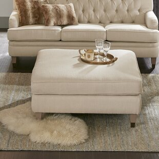 Aurora Ottoman by Madison Park Signature