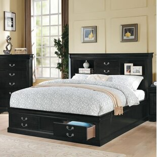 Covertt Solid Wood Storage Standard Bed by Darby Home Co