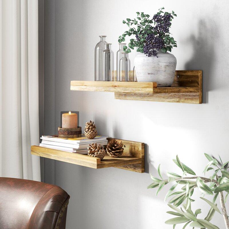 Oconner Wall Shelf by Union Rustic
