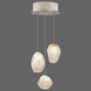 Fine Art Lamps Natural Inspirations 3-Light Cluster Pendant