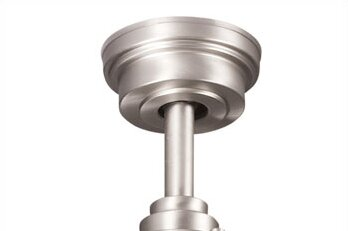 Kichler 360004NI Accessory Fan Down Rod 48-Inch Brushed Nickel