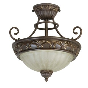 Snodgrass 2-Light Semi Flush M..