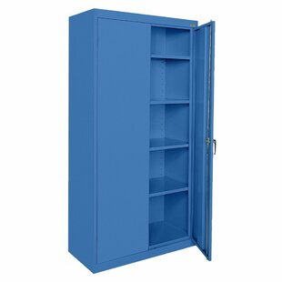 Classic Series 2 Door Storage Cabinet by Sandusky Cabinets 2019 Sale