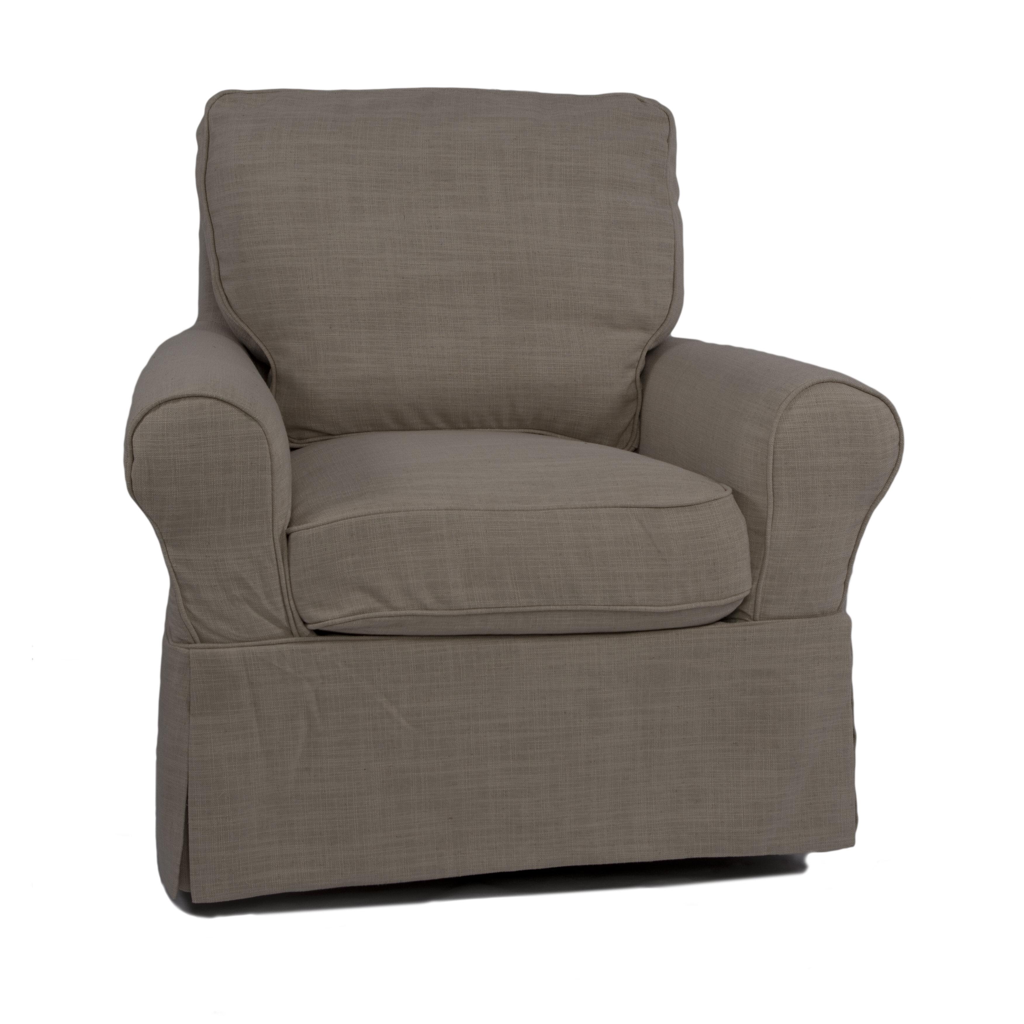beachcrest home coral gables armchair slipcover wayfair. Black Bedroom Furniture Sets. Home Design Ideas