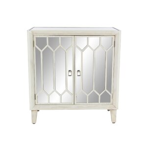 Cecilwood Modern Wood 2 Door Accent Cabinet by Ophelia & Co.