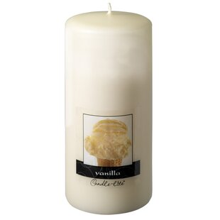 Candle-Lite Vanilla Pillar Candle (Set of 2)