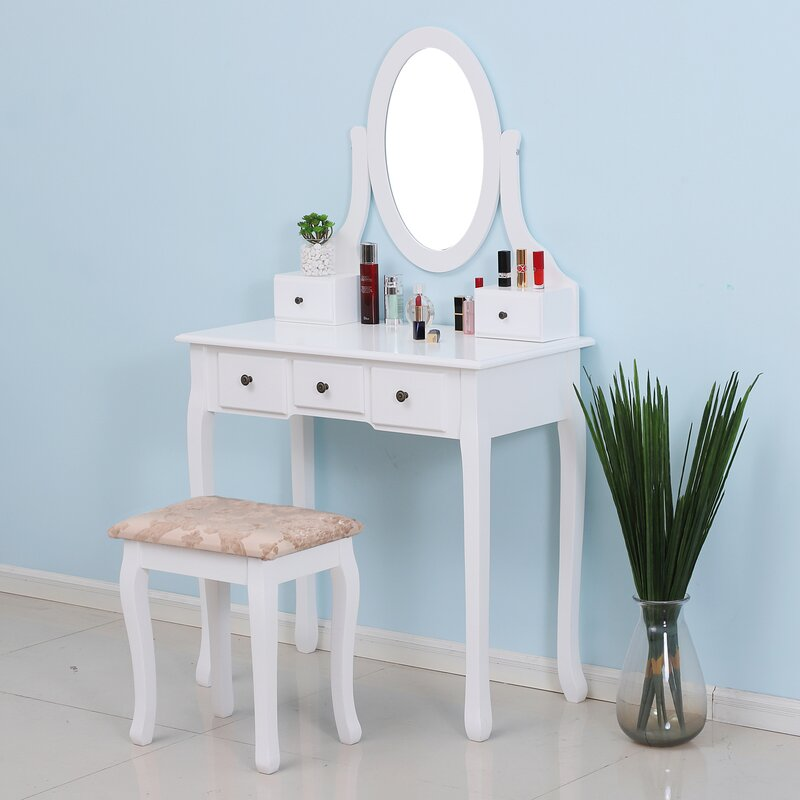 Brookeville Vanity Set with Mirror