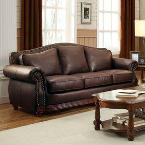 Pratt Show-Wood Sofa by World Menagerie