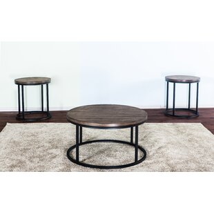 Brockman 3 Piece Coffee Table Set