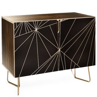 East Urban Home Three of the Possessed 2 Doors Accent Cabinet