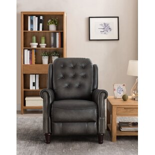 Parrish Leather Manual Recliner
