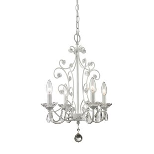 Greyleigh Aquilla 4-Light Candle Style Chandelier