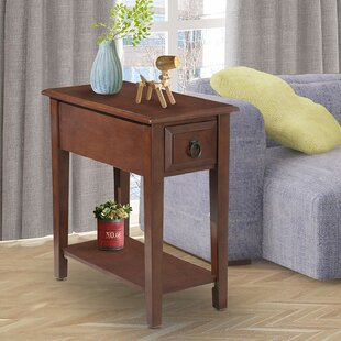 Talamantes End Table with Storage