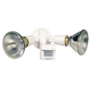 Motion Activated LED Dusk to Dawn Outdoor Security Flood Light by Heath-Zenith