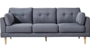 Madison Home USA Mid Century Modern Ultra Plush Linen Fabric Sofa