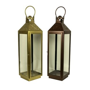 Classic Square Lantern (Set of 2)
