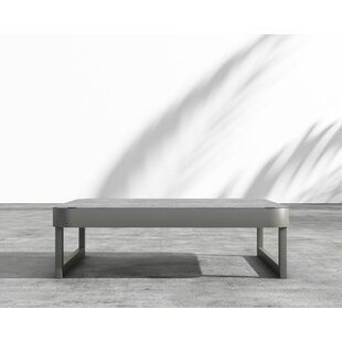 Coffman Aluminum Coffee Table by Brayden Studio #2