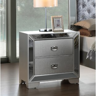 Jemma 2 Drawer Nightstand by Everly Quinn Today Only Sale