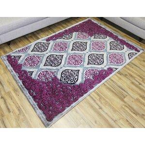 shonil graypurple area rug