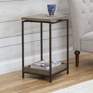 Camp End Table by Wrought Stud..