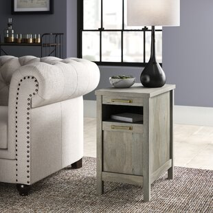 Tilden End Table With Storage
