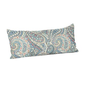 Haggerty Paisley Arbor Outdoor Lumbar Pillow