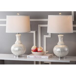 Jefferey Gourd 24.75 Table Lamp (Set of 2)