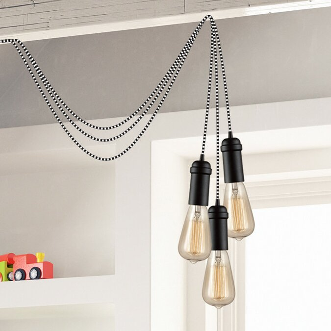 Globe electric company edison 1 light hanging socket pendant edison 1 light hanging socket pendant aloadofball Images