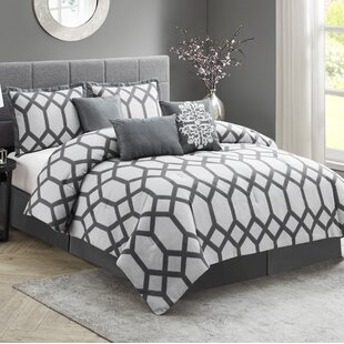 Dare 7 Piece Comforter Set by Wrought Studio